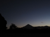 Taranaki at night