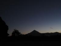 Taranaki at night