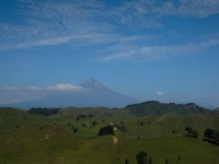 Taranaki from a distance