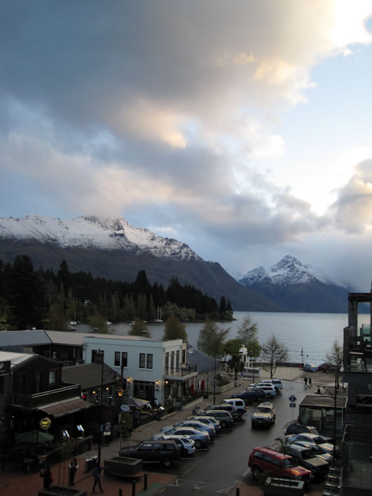 Queenstown Balcony View