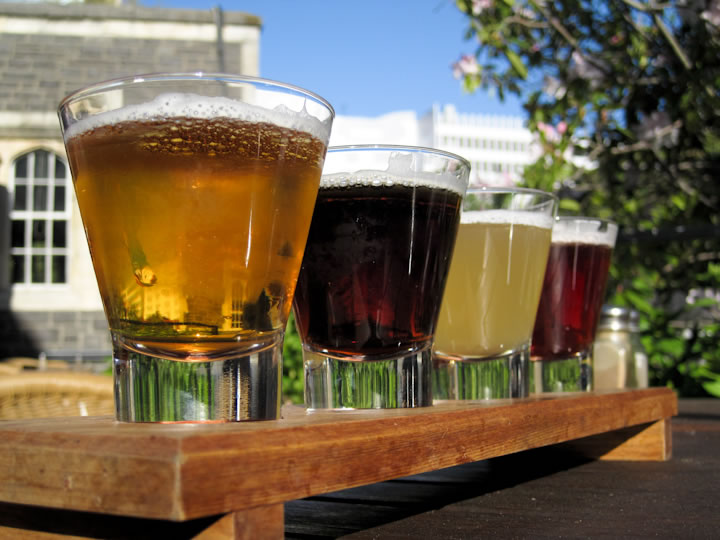 Beer flight