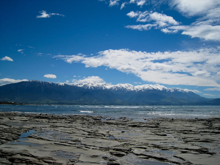 Walking around Kaikoura 1