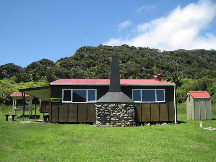 Heaphy Hut