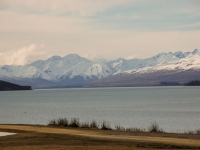 VIew from our Window - Lake Tekapo