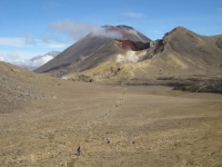 The Tongariro Crossing--Hiking through Mordor