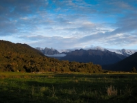 Heading toward Franz Josef
