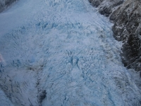 Helicopter views over Fox Glacier