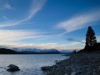 Lake Tekapo dusk