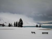 Lake Tekapo snowfall